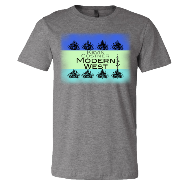 Kevin Costner & Modern West Unisex Deep Heather Tee