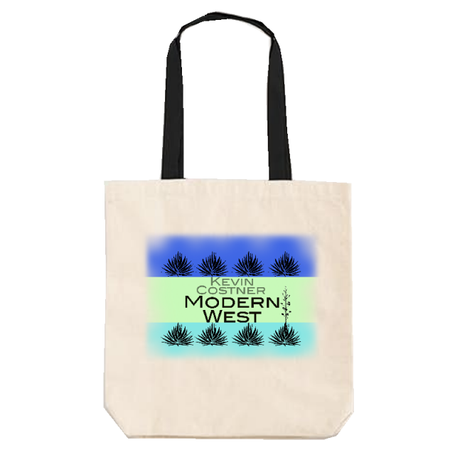 Kevin Costner & Modern West Tote Bag