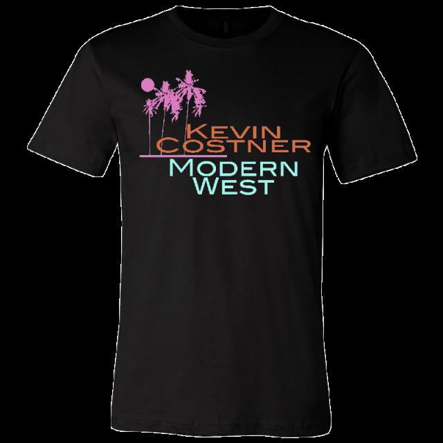 Kevin Costner & Modern West Unisex Black Tee
