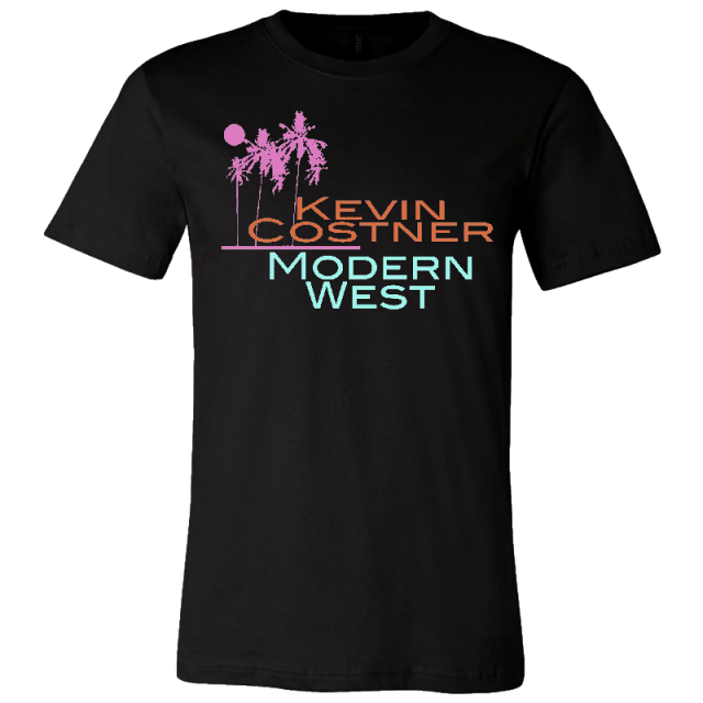 Kevin Costner & Modern West Unisex Black Tee