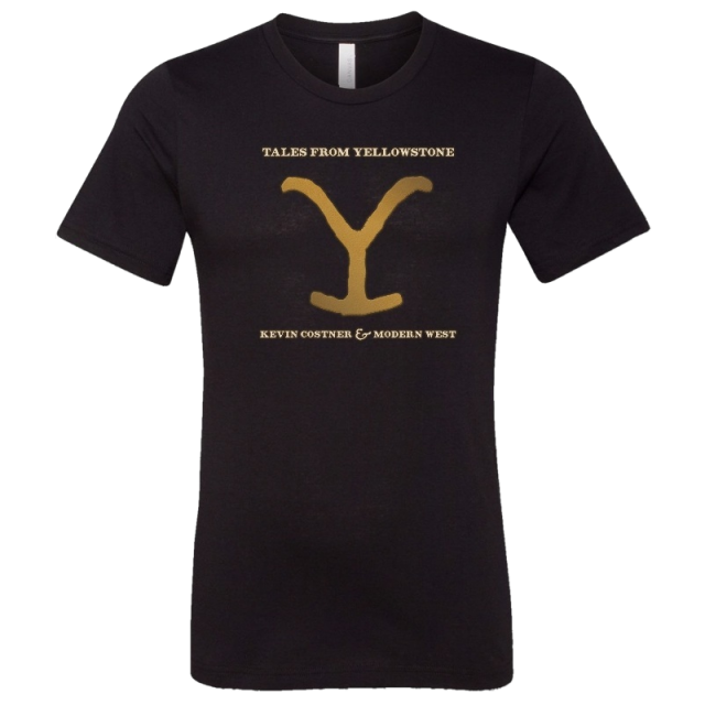 Tales From Yellowstone Black Tee-PRESALE
