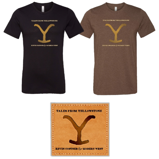 Tales From Yellowstone Tee and CD Bundle- PRESALE