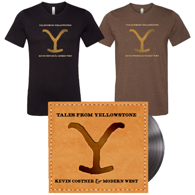 Tales From Yellowstone Tee and Vinyl Bundle- PRESALE