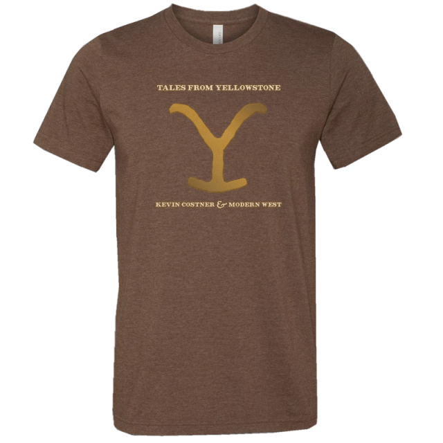 Tales From Yellowstone Heather Brown Tee-PRESALE
