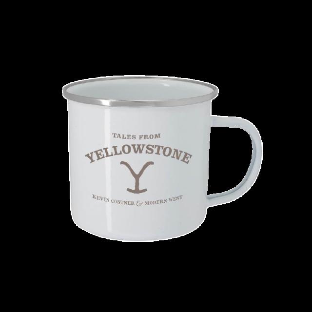 Tales From Yellowstone White Campfire Mug